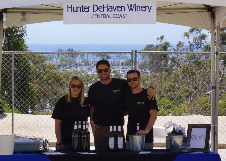 Greetings from the OC Wine Festival!