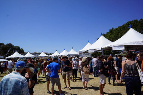 wine festival grounds