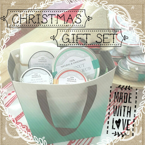 Theristes Natural Skincare Christmas Giftset