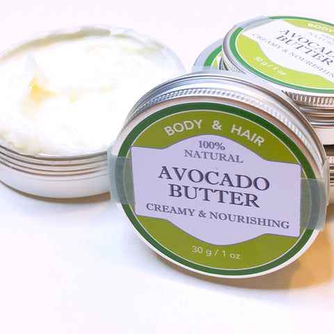 100% Natural Avocado Butter
