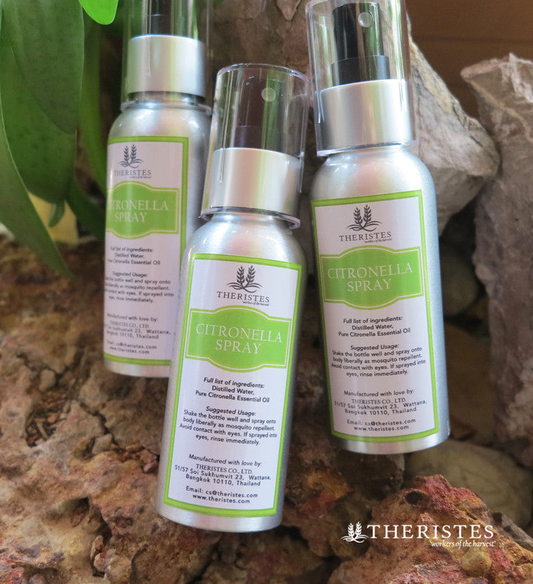 All Natural Citronella Spray Alcohol Free Theristes Workers