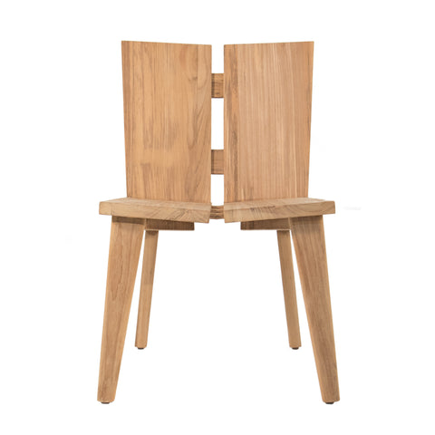 #3013 Strand - Outdoor Side Chair in Teak