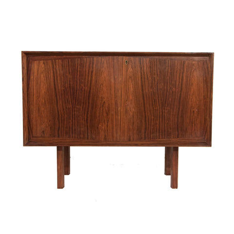 #1006 Sideboard in Brazilian Rosewood with Lemon Wood Interior