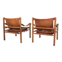 #108 Pair of Safari Chairs by Arne Norell