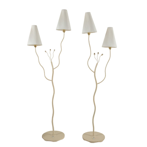 #1087 Pair of Floor Lamps