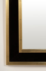 #112 Mirror in Brass and Velvet by Estrid Ericson
