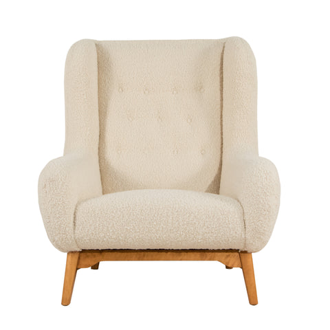 #1138 Lounge Chair in Boucle