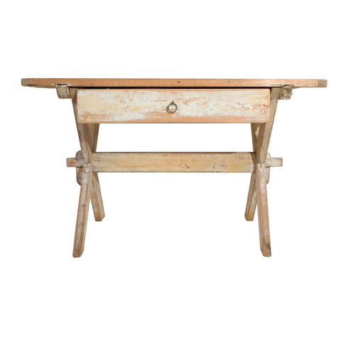 #1149 Gustavian Trestle Table