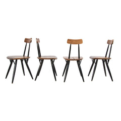 #144 Set of 4 Chairs by Ilmari Tapiovaara