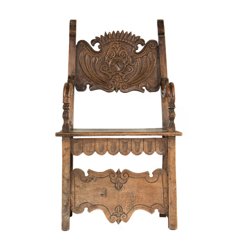 #150 Baroque Arm Chair