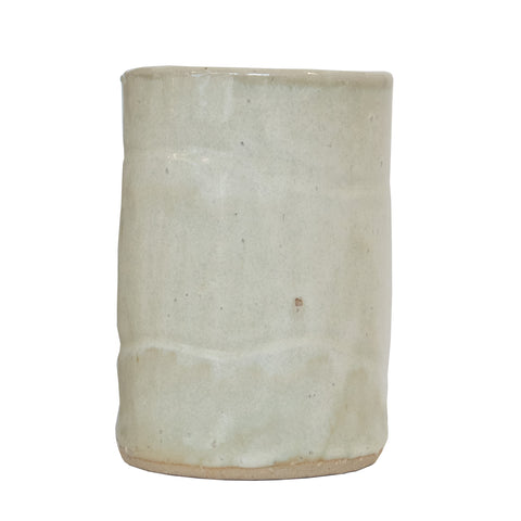 #151 White Glazed Stoneware