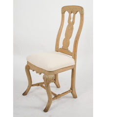#1531 Pair of Rococo Side Chairs