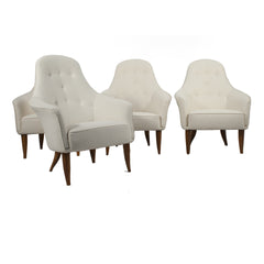 "#1541 Set of 4 ""Big Adam"" Lounge Chairs by Kerstin Horlin Holmquist"