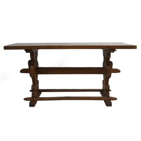 #1726 Baroque Style Trestle Table