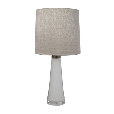 #182 White Table Lamp by Carl Fagerlund