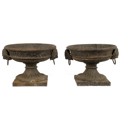 #1985 Pair of Gustavian Urns