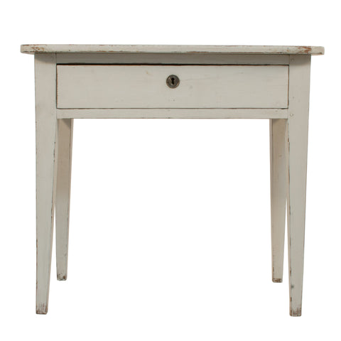 #2175 Gustavian Side Table