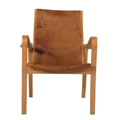 #230 Lounge chair in Leather