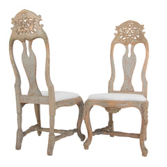 #241 Pair of Rococo Sidechairs