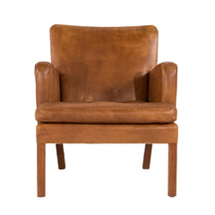 #249 Leather Lounge Chair by Kaare Klint