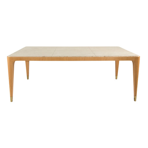 #258 Stone top Dining Table by Lucie Renaudot