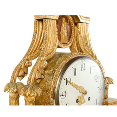 #279 Gustavian Table Clock