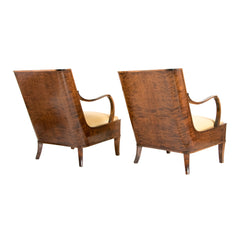#295 Pair of Lounge Chairs by Erik Chambert