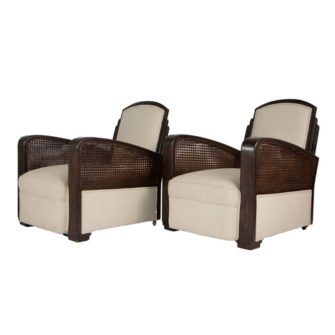 #299 Pair of Lounge Chairs