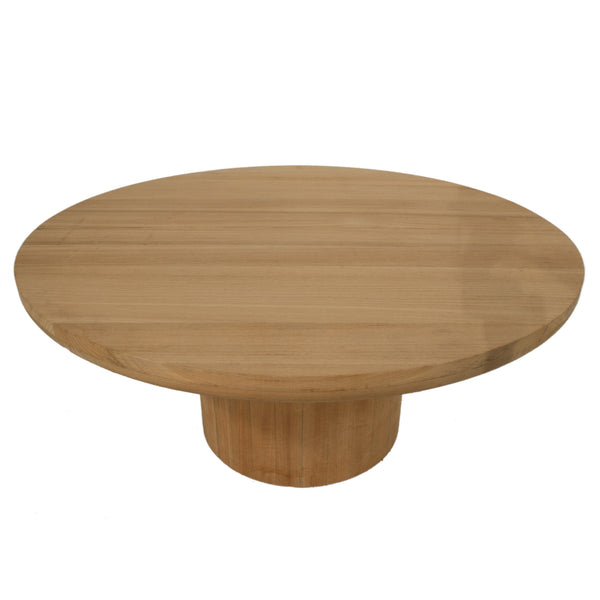 3005 Dal Round Outdoor Coffee Table In Teak Liefalmont