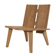 #3009 Sand - Outdoor Lounge Chair in Teak