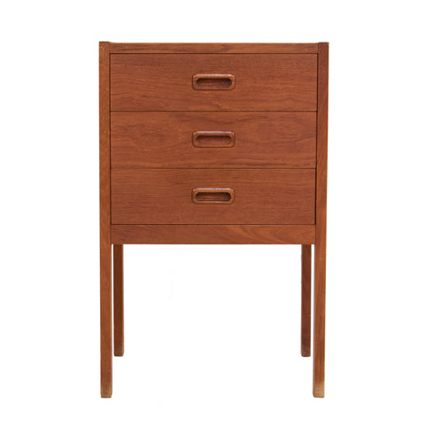 #308 Mid Century Bedside Table