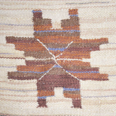 #32 Vintage Swedish Flat Weave Rug by Marta Maas-Fjetterstrom