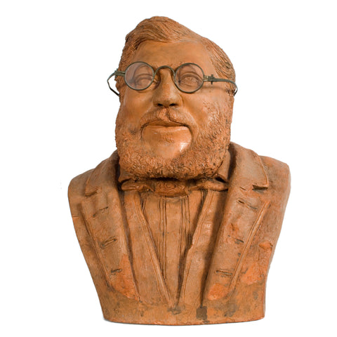 #323 French Terracotta Bust