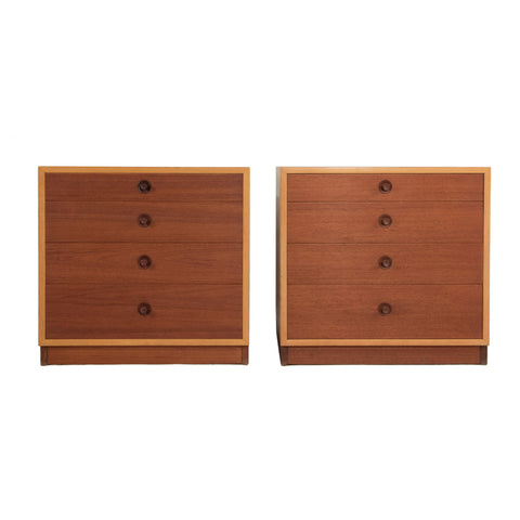 #328 Pair of Chests by Borge Mogensen,