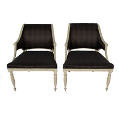 #379 Pair of Gustavian Armchairs