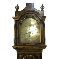 #409 George III Grandfather Clock by James Evans