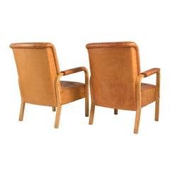 #459 Pair of Armchairs by Alvar Alto