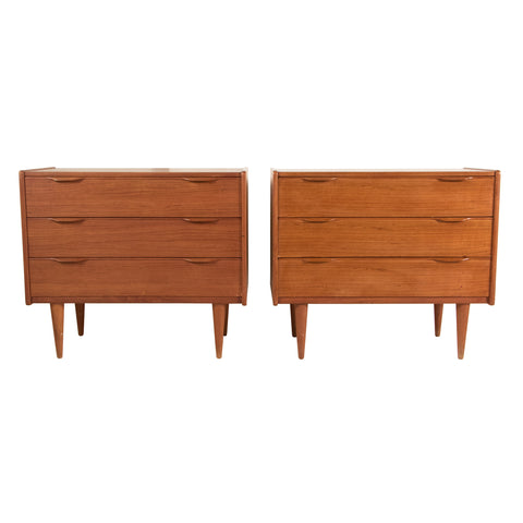 #462 Pair of Chests in Teak