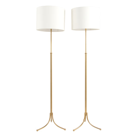 #481 Pair of Adjustable floor lamps by Josef Frank