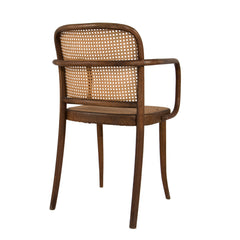 #488 Arm Chair With Wowen Cane Seat