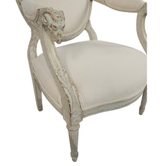 #490 Louis XVI Armchair in the Art of Jacob