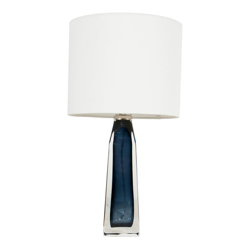 #550 Blue Table Lamp by Carl Fagerlund