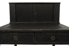#554 Signed Gustavian Desk by Carl Lindborg