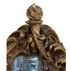 #58 Swedish Baroque Style Mirror