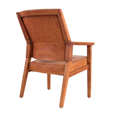 #581 Leather Armchair