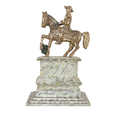 #583 Statue of a General on Horseback