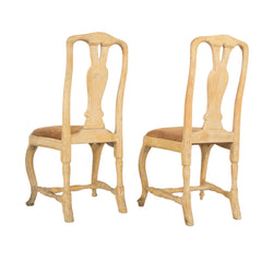 #59 Pair of Rococo Side Chairs
