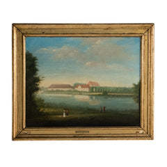#591 Oil Painting by Elias Meyer (1763-1809)
