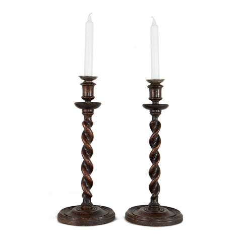 #604 Pair of Candle Holders