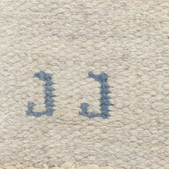 #615 Vintage Swedish Flat Weave Rug by Judith Johansson